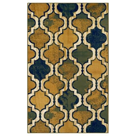 Superior Viking Modern Geometric Moroccan Trellis Area Rug Collection