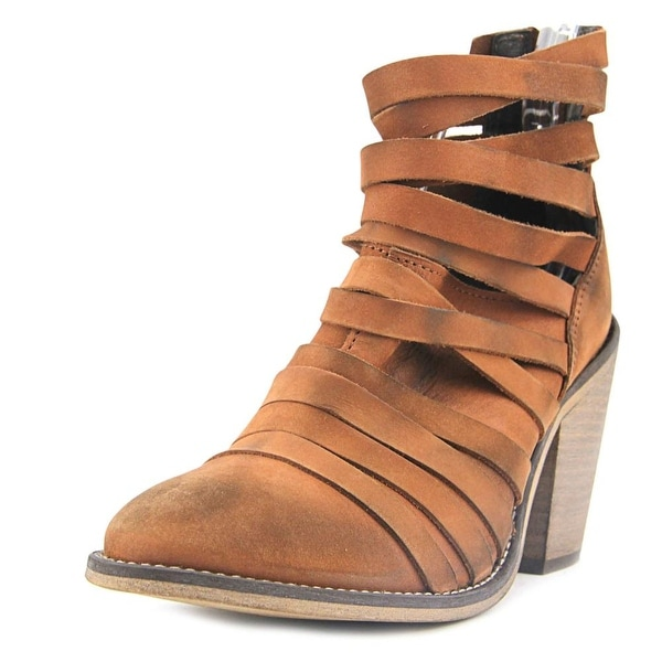 Free People Hybrid Women Round Toe Leather Bootie