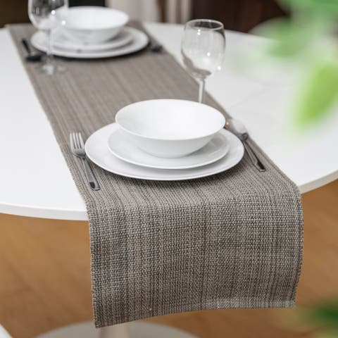 """Fabstyles Casual Classic Extra Thick Cotton Table Runner Handmade - 13""""x54"""""""