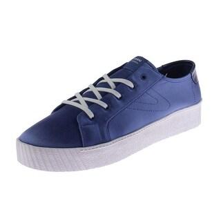 Tretorn Womens Blaire7 Fashion Sneakers Satin Casual