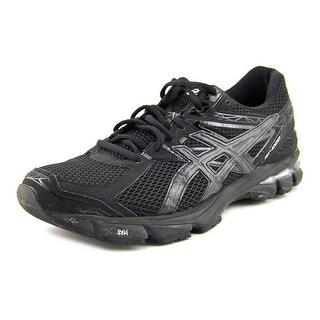 Asics Gel-Nimbus 18 Men H Round Toe Synthetic Black Running Shoe