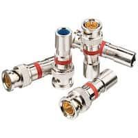 Ideal 89-5047 Rg59 Insite(Tm) Compression Connectors, 35 Pk