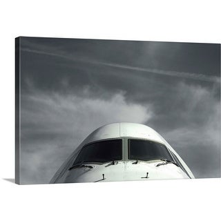 """The cockpit of an aircraft"" Canvas Wall Art"