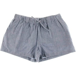 Joie Womens Sivan Cotton Chambray Casual Shorts - L