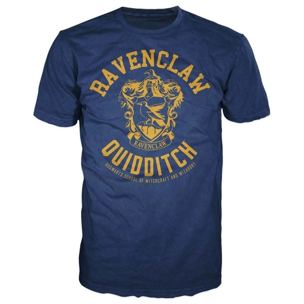 190814f28b9 Shop Harry Potter Ravenclaw Quidditch Mens Hogwarts T-shirt - On Sale -  Free Shipping On Orders Over  45 - Overstock - 18437894