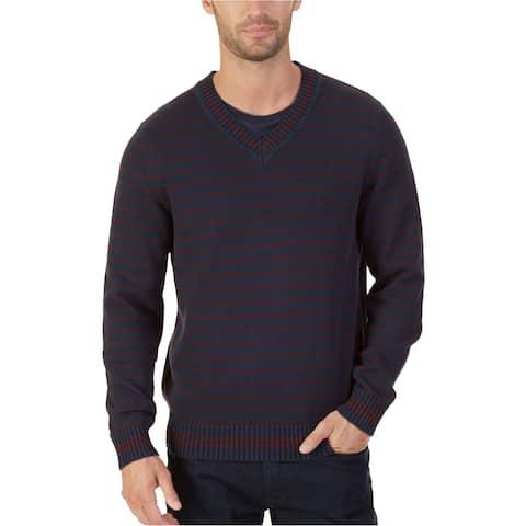 Nautica Mens Striped Pullover Sweater