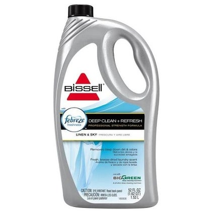 Bissell 22763 Febreze Carpet Cleaner, Deep Clean & Refresh, 52 Oz.