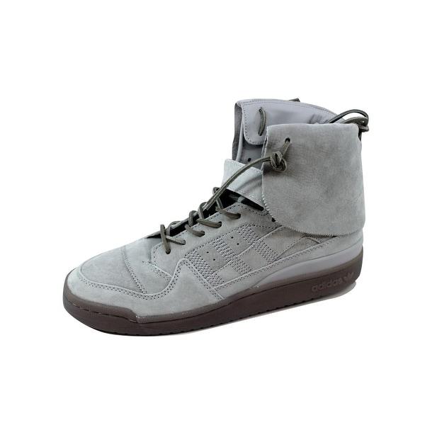 Adidas Men's Forum Hi Mocassin Stone/Stone-Clay B27682