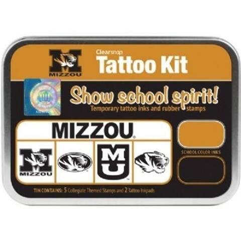 Clearsnap CS19640 University of Missouri Collegiate Tattoo Kit