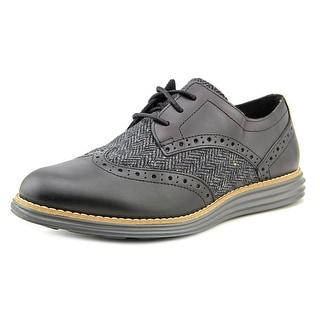 Cole Haan Original Grand Wingtip Toe Leather Oxford