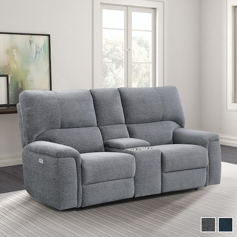 Linville Power Double Reclining Loveseat with Power Headrests