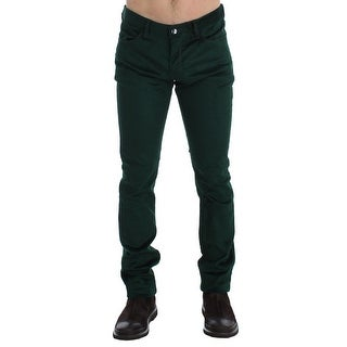 Costume National Costume National Green Corduroy Slim Fit Pants Jeans - w34