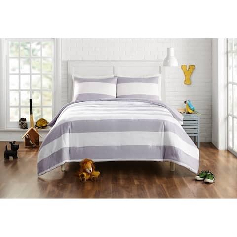 Lavelle Comforter Set, Grey