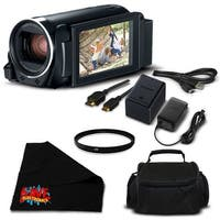 Canon VIXIA HF R800 Camcorder (Black) Full HD 1080p - Bundle