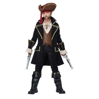 Child Deluxe Pirate Captain Costume (3 options available)