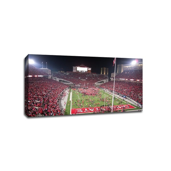 The Ohio State - CollegeFootball - 40x22 Gallery Wrapped Canvas Wall Art