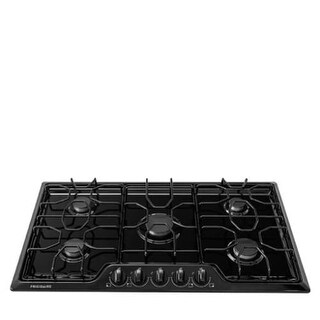 Frigidaire FFGC3610Q 36 Inch Wide Built-In Gas Cooktop with Angled Front Controls