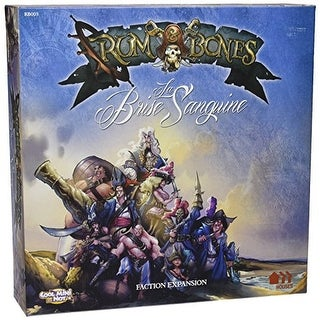 Rum & Bones La Brise Sanguine Board Game