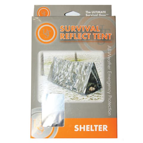 UST 20-190-1500 All-Weather Emergency Survival Tent, Reflective