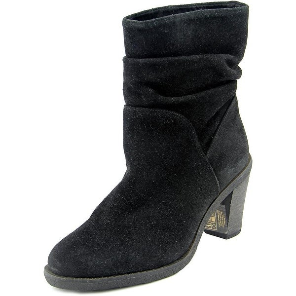 Vince Camuto Parka Women Round Toe Suede Black Ankle Boot