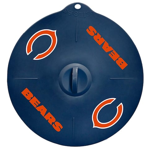 """Chicago Bears 9"""" Silicone Lid"""