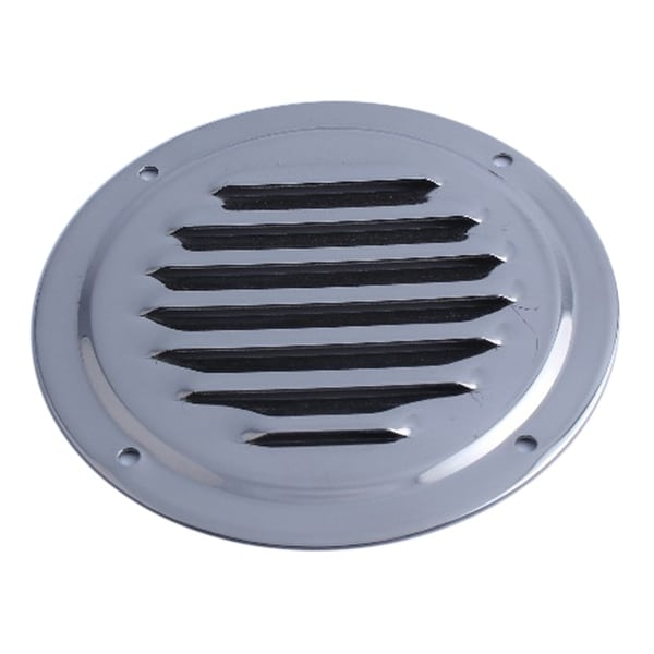 Round Louvered Vent Stainless Steel Yacht