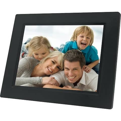 Naxa nf503 7 tft lcd digital photo frame - Black