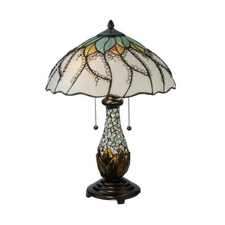 22.5 Inch H Videira Florale Table Lamp