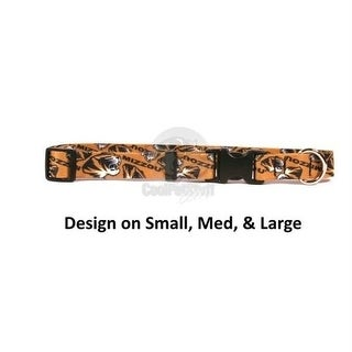 Missouri Tigers Pet Nylon Collar - Large