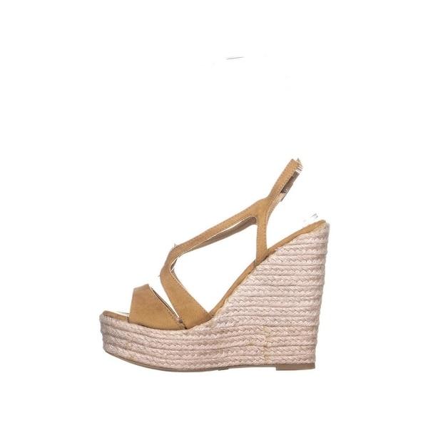 58cd6211deb2 Shop XOXO Sabeen Peep Toe Wedge Platform Sandals