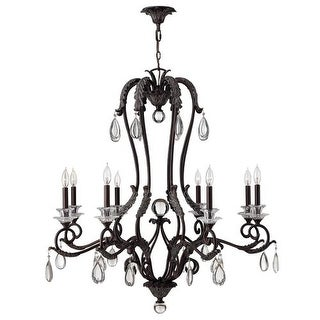Hinkley Lighting 4404 Marcellina 8 Light 1 Tier Candle Style Chandelier