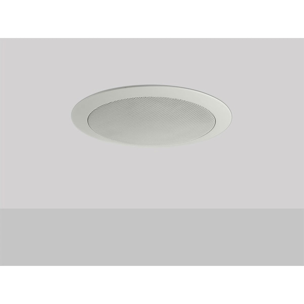 Monoprice Commercial Audio 20W 4 inch Coax Ceiling Speaker with ABS Back Can & Grill 70V (NO LOGO)