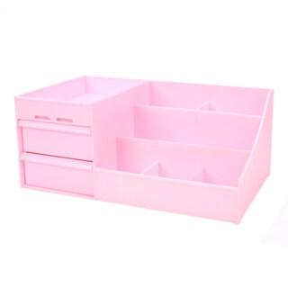 Drawer Type Organizer Cosmetic Storage Box 3014 S Pink