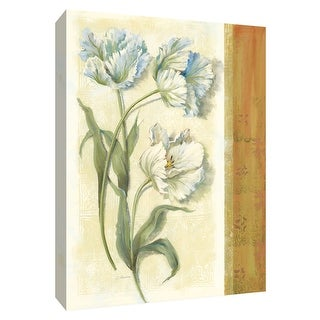 "PTM Images 9-154178  PTM Canvas Collection 10"" x 8"" - ""Tulip Trio"" Giclee Tulips Art Print on Canvas"
