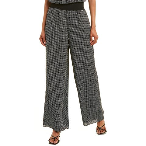 Theory Wide Silk Pant