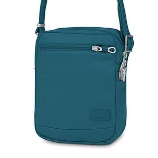 Pacsafe Citysafe CS75-Teal Anti-Theft Cross Body Travel Bag