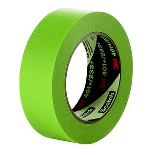 Scotch High Performance Masking Tape, 0.50 Inch x 60 Yards, Green