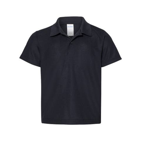 Performance Youth Double Pique Sport Shirt
