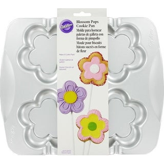 Wilton Blossom Pops Cookie Pan Kitchen Bakeware
