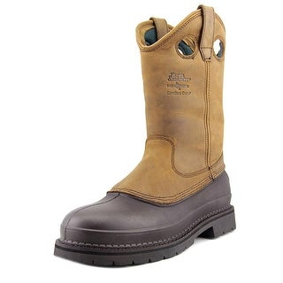 "Georgia G5514 12"" Muddog Men Round Toe Leather Brown Work Boot"