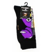 Five Nights at Freddy's Crew Socks - Black