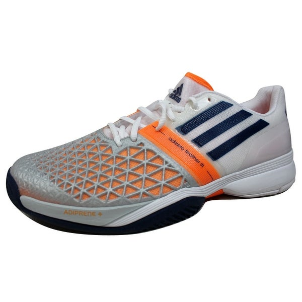 online store 372f6 315bf Adidas Menx27s Clima Cool Adizero Feather III 3 Clear GreyNight
