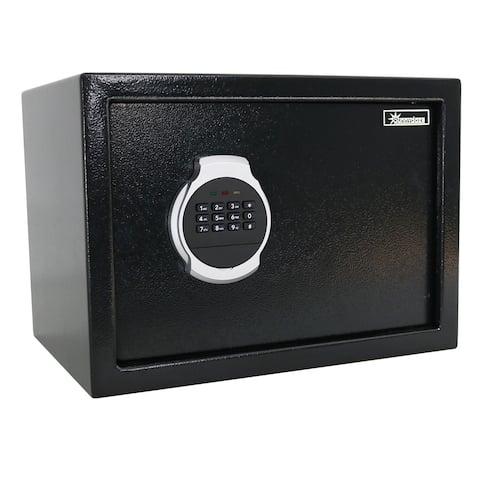 Sunnydaze Steel Digital Home Security Safe with Programmable Lock - Options