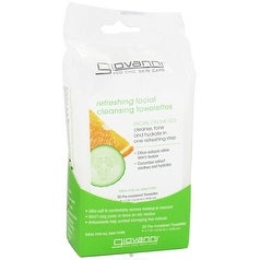 Giovanni Facial Cleansing Towelettes (Refreshing) Citrus & Cucumber 30-count
