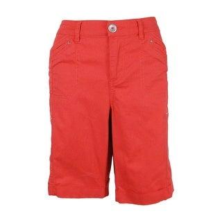 Style & Co. Women's Cuffed Cargo Shorts