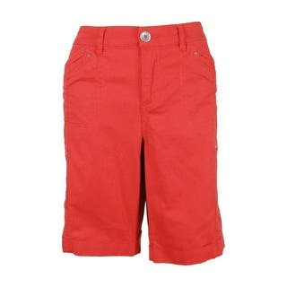 Style & Co. Women's Cuffed Cargo Shorts - deepsea coral|https://ak1.ostkcdn.com/images/products/is/images/direct/29dd47059dc49bb07d379020e73b3aed90a0f92a/Style-%26-Co.-Women%27s-Cuffed-Cargo-Shorts.jpg?impolicy=medium