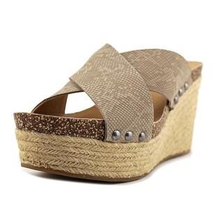 Lucky Brand Neeka Women Feather Grey Sandals