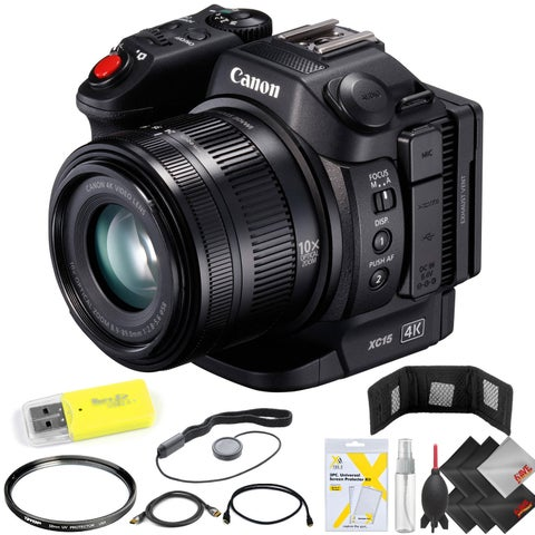 Canon XC15 4K Professional Camcorder Kit
