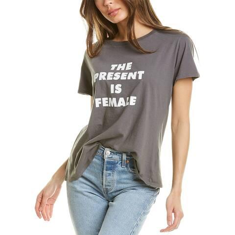 Sub_Urban Riot The Present Is Female T-Shirt
