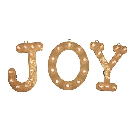 Celebrations 54012-71 Joy Marquee Sign, 12""